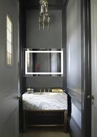 led lighted 24 u2033x36 u2033 bathroom mirror with dimmer u0026 defogger krugg