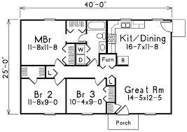 house plans 1000 square feet house plan 3 beds 1 baths 1000 sq ft plan 57 221 floor plan