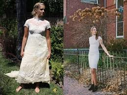 repurpose wedding dress something is made new wedding dress upcycles