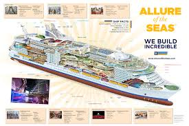 Cruise Ship Floor Plans Royal Caribbean U0027s New Allure Of The Seas Cruise Ship Offers 3d