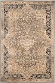 Safavieh Rugs Safavieh Vintage Vtg574d Taupe And Black Area Rug Free Shipping