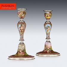 100 paint color candlestick silver antique candle sticks