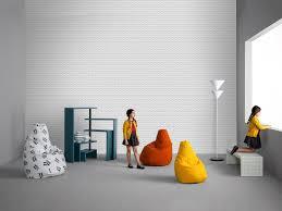 Esszimmerst Le Orange Zanotta Sitzsack Sacco Vip Orange Von Piero Gatti Cesare Paolini