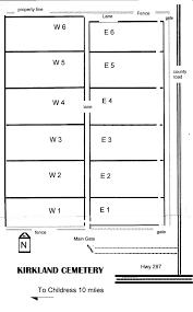 Kilgore Texas Map Kirkland Cemetery Childress Co Cemeteries Of Tx Gloria B Mayfield