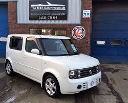 cube cars white 2006 nissan cube 7 seater 86 000 miles sold sussex
