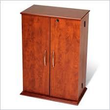 Multimedia Storage Cabinet With Doors Media Storage Furniture Media Cabinet One Way Furniture