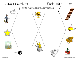st blends worksheets by jamakex teaching resources tes