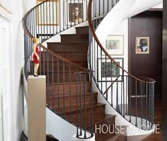 Curved Stairs Design Curved Staircase Dimensions View In Gallery Luxurious Project On