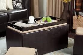 Ikea Storage Ottoman by Ottomans With Storage Walmart Love The Dual Of This Ottoman With