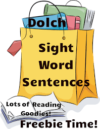 grade sight word flash cards printable reading resources free dolch sight word sentences readyteacher