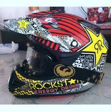 rockstar motocross helmet selling used answer rockstar energy drink edition motocross helmet