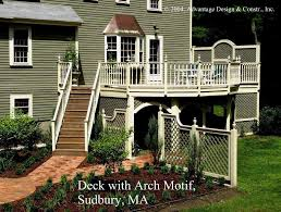 Home Designer Pro Lattice This Tall Deck Has Rails With Turned Balusters And Finial Post
