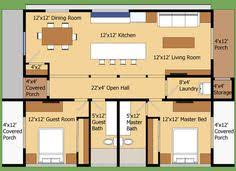 house plan 053 00214 small plan 1 280 square feet 2 bedrooms