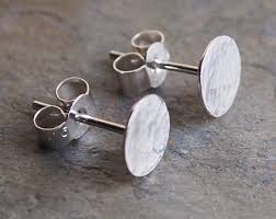 mens earrings uk mens stud earrings etsy