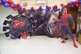 Spiderman Decoration Spiderman Theme Birthday Party Ideas Decorations And Supplies