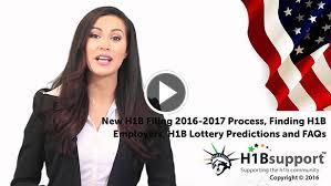 h1b visa application process and h1b lottery predictions 2017