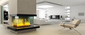 decorations sleek freestanding modern fireplace with black base