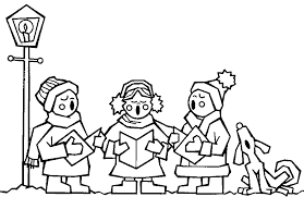 christmas colouring pages free to print and colour