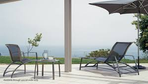 Meridian Patio Furniture by Brown Jordan Wave Brown Jordan Wave Sling Motion Lounge Chair