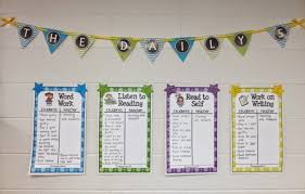 the daily five printables daily 5 daily 3 ms laing s superstar academy classroom