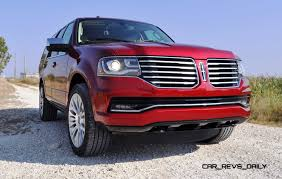 lincoln navigator back road test review 2015 lincoln navigator driven back to back with