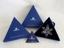 swarovski snowflake ornament 2008 ebay