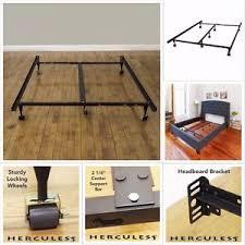 heavy duty metal bed frame adjustable twin full queen king
