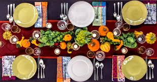 tips on setting the thanksgiving table the new york times
