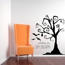 tim burton decor tree wall decal tree decal tree