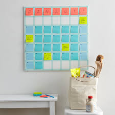 Washi Tape Wall Designs by Big Wall Calendar Using Washi Tape And Post Its Crafty Projects