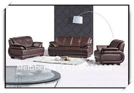 The Leather Factory Sofa High Quality Half Leather Sofa Bulk Order Factory Export In