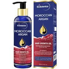 buy st botanica moroccan argan hair growth oil with pure argan
