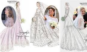 valentino wedding dresses beatrice borromeo to maxima valentino s royal brides