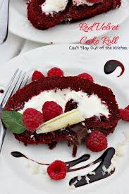 red velvet cake roll can u0027t stay out of the kitchen