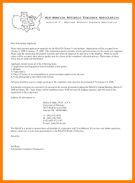 Letter Of Intent Scholarship Example by Dazzling Design Ideas Cover Letter For Scholarship 16 5 Examples