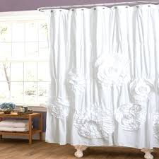 Anthropologie Ruffle Shower Curtain by Barn Shower Curtain Cintinel Com
