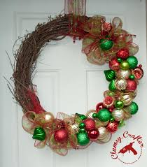how to attach decomesh to a grapevine wreath clumsy crafter