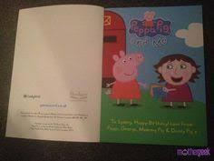 peppa pig personalised book u0027with peppa pig obsessed