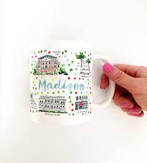 Madison Wi Map Madison Wi Map Mug U2013 Evelyn Henson