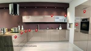 meuble de cuisine avec porte coulissante meuble haut cuisine avec porte coulissante loverossia com