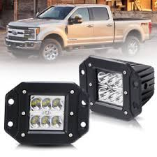 f250 led light bar 2pcs 5 inch led light bar flush mount front bumper for ford f250