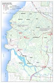 Map Of Coos Bay Oregon by Siuslaw National Forest Trail Maps
