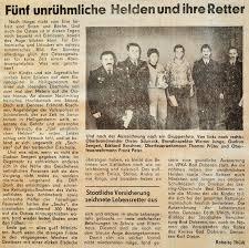 Ffw Bad Doberan 1987 Kinder Auf Eisscholle Einsatz Freiwillige Feuerwehr Der