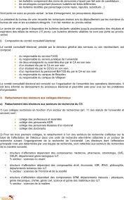 bureau de vote composition reglement interieur de l universite de rennes 1 pdf
