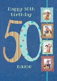 50 birthday card send personalised 50th birthday cards funky pigeon