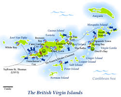 map of the bvi home bvicruisingguide