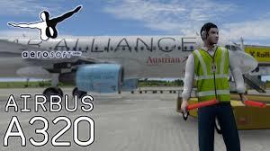 aerosoft airbus a320 full flight tutorial aua vienna to heathrow