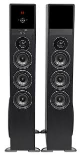 7 1 home theater speakers rockville tm150b bluetooth home theater tower speaker system 2