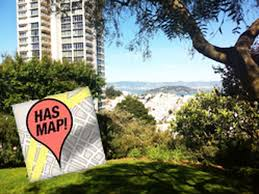 San Francisco Street Cleaning Map by 17 Secret Gardens And Green Spaces Hidden Around S F