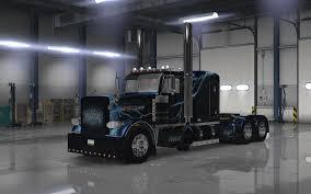 lightning 2 metallic paint for peterbilt 389 american truck